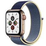 苹果Watch Series 5(GPS+蜂窝网络/不锈钢表壳/回环式运动表带/44mm) 智能手表/苹果