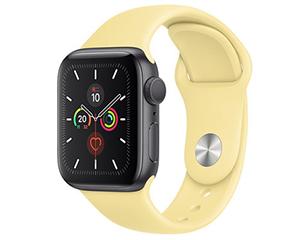 苹果Watch Series 5(GPS/铝金属表壳/运动表带/40mm)