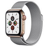 苹果Watch Series 5(GPS+蜂窝网络/不锈钢表壳/米兰尼斯表带/44mm)