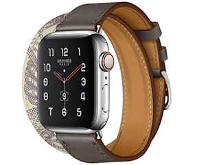�O果Watch Hermes Series 5(GPS+蜂�C�W�j/不�P�表��/Double Tour表��/40mm)