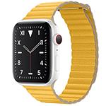 苹果 Watch Edition Series 5(GPS+蜂窝网络/精密陶瓷表壳/皮制回环形表带/44mm)