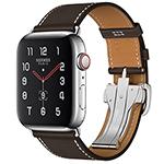 苹果Watch Hermes Series 5(GPS+蜂窝网络/不锈钢表壳/Single Tour Deployment Buckle表带/44mm) 智能手表/苹果