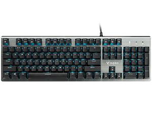 雷柏V530防水背光游戏机械键盘
