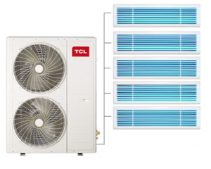 TCL TMV-Vd140W/N1一拖四