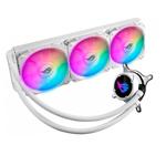华硕ROG STRIX LC 360 RGB WE小白龙 白色纪念版 散热器/华硕