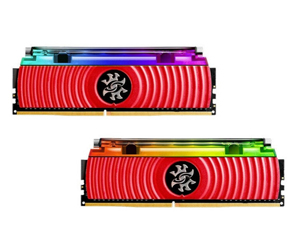 威刚龙耀D80 DDR4 3200 8GB×2图片