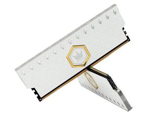 影驰HOF OC Lab 皑钻 RGB 16GB(2×8GB)DDR4 4000图片