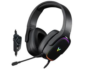 雷柏VH700虚拟7.1声道RGB线控游戏耳机图片