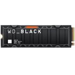 西部数据WD_BLACK SN850带散热片(500GB) 固态硬盘/西部数据
