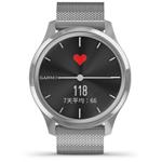佳明GarminMove Luxe(黑色表盘/银色米兰尼斯表带) 智能手表/佳明