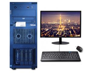 联想ThinkSystem ST258(E-2224G/8GB/1TB/21.5LCD)图片