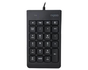 雷柏K10有线数字小键盘