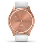 佳明GarminMove Style(玫瑰金色表盘/白色运动表带) 智能手表/佳明