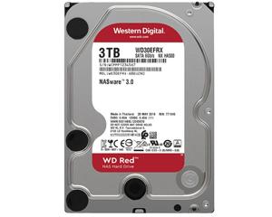 西部数据红盘 3TB 5400转 64M SATA3(WD30EFAX)图片