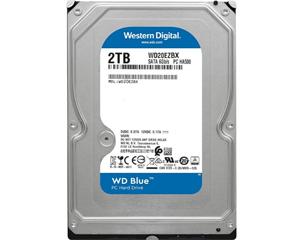 西部数据蓝盘 2TB 7200转 256MB SATA3(WD20EZBX)图片
