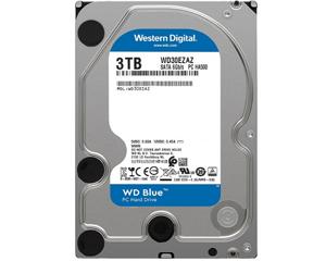西部数据蓝盘 3TB 5400转 256MB SATA3(WD30EZAZ)图片
