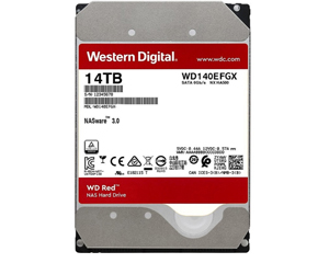 西部数据红盘Plus 14TB 7200转 256MB SATA3(WD140EFGX)图片