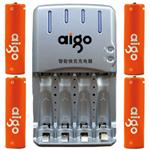 爱国者镍氢电池充电套装5号4粒(2200mAh) 电池/爱国者