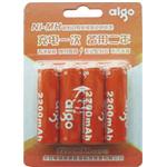 爱国者镍氢充电电池5号4粒装(2200mAh) 电池/爱国者