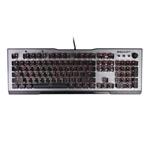 冰豹 瓦肯Vulcan100 全彩透明机械键盘