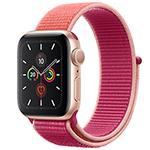 苹果Watch Series 5(GPS/铝金属表壳/回环式运动表带/44mm) 智能手表/苹果