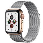 苹果Watch Series 5(GPS+蜂窝网络/不锈钢表壳/米兰尼斯表带/44mm) 智能手表/苹果