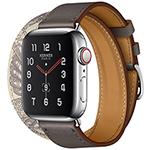 苹果Watch Hermes Series 5(GPS+蜂窝网络/不锈钢表壳/Double Tour表带/40mm) 智能手表/苹果
