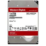 西部数据红盘Plus 14TB 7200转 256MB SATA3(WD140EFGX)