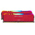 英睿达Ballistix铂胜 RGB 16GB(2×8GB)DDR4 3200(BL2K8G32C16U4RL) 内存/英睿达
